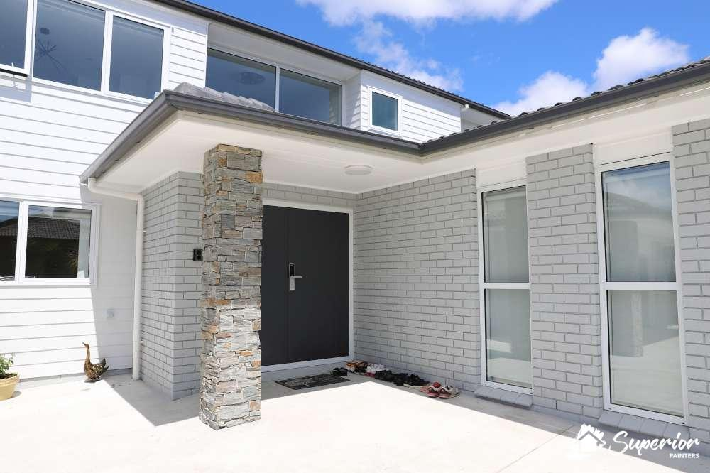 front-door-after-1000 Exterior Painting Cost Calculator (NZ) Updated 2020 by Superior Painters ®